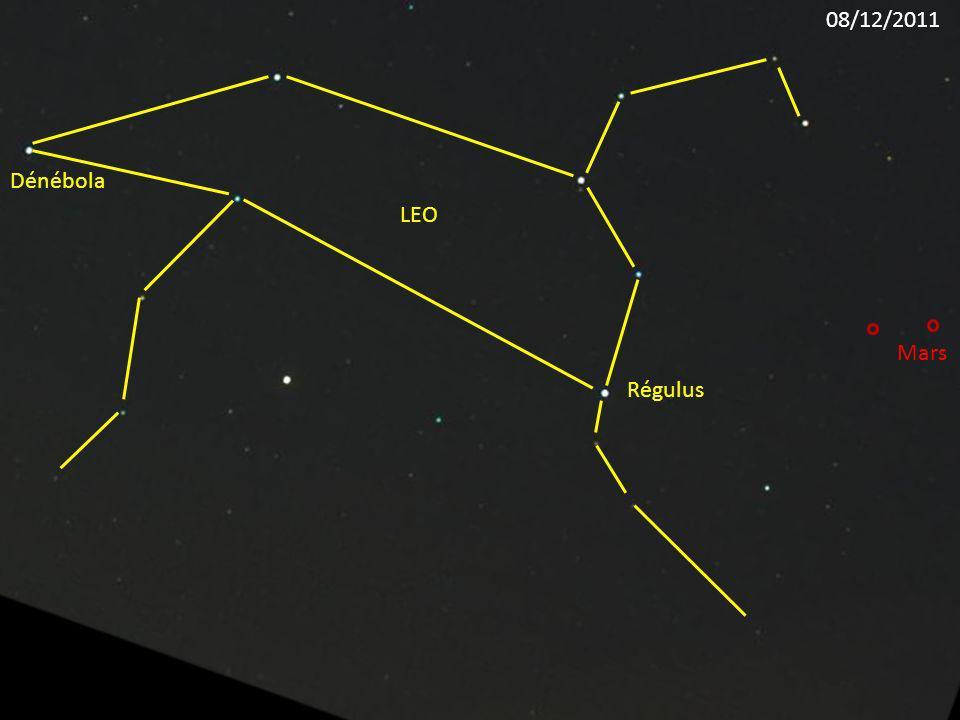 08/12/2011 Dénébola LEO Mars Régulus