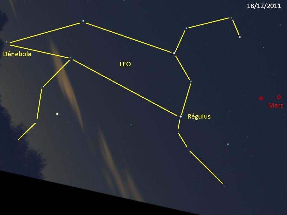 18/12/2011 Dénébola LEO Mars Régulus