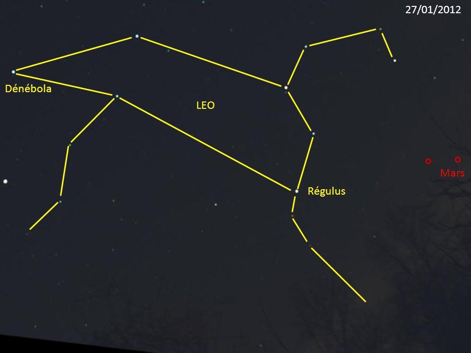 27/01/2012 Dénébola LEO Mars Régulus
