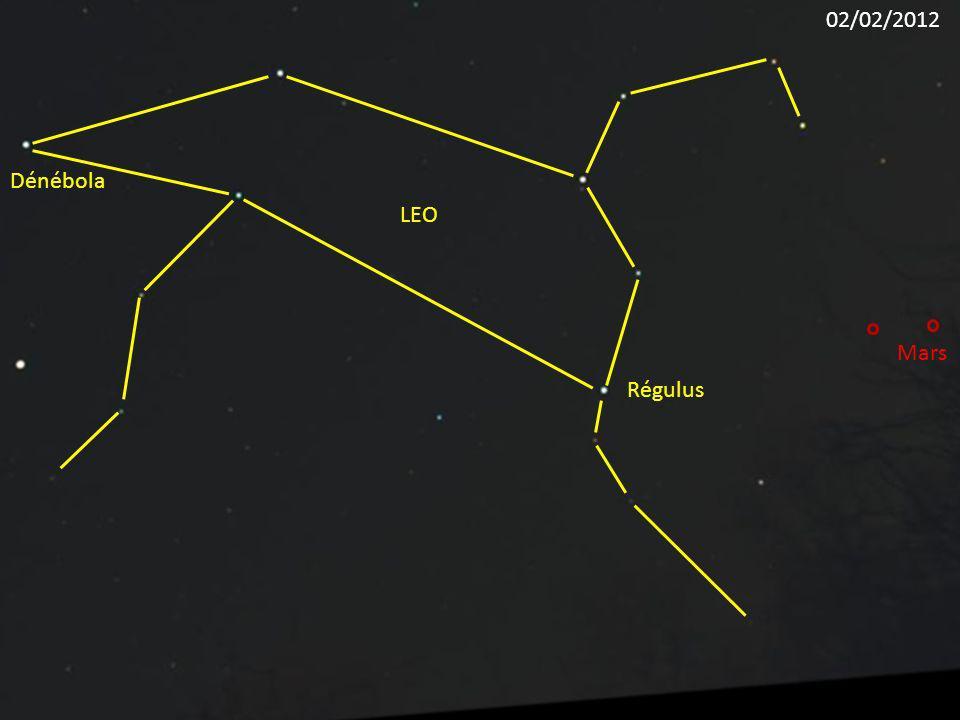 02/02/2012 Dénébola LEO Mars Régulus