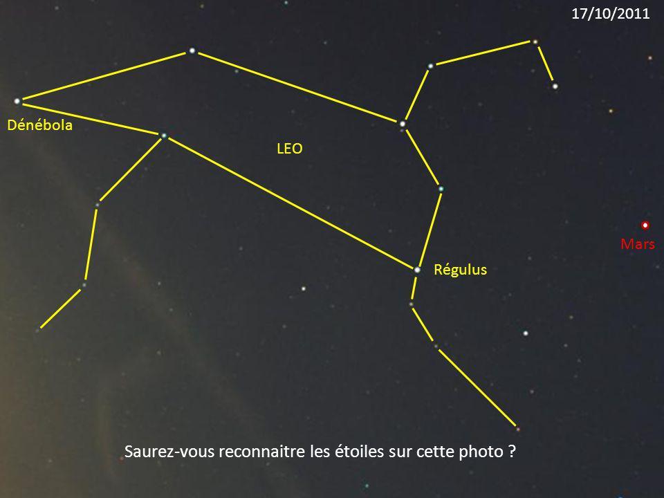 Saurez-vous reconnaitre les étoiles sur cette photo