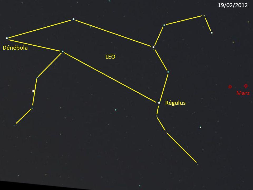 19/02/2012 Dénébola LEO Mars Régulus