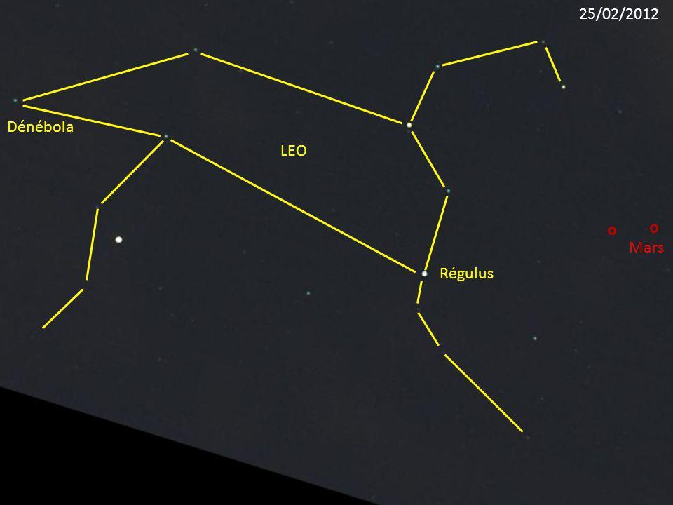 25/02/2012 Dénébola LEO Mars Régulus