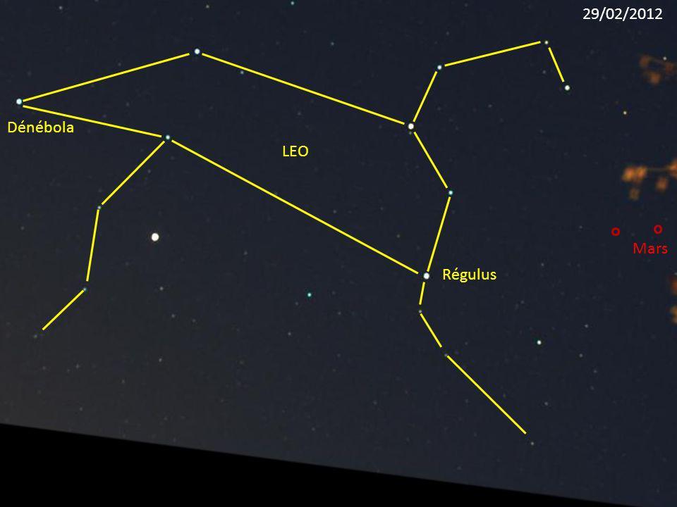 29/02/2012 Dénébola LEO Mars Régulus