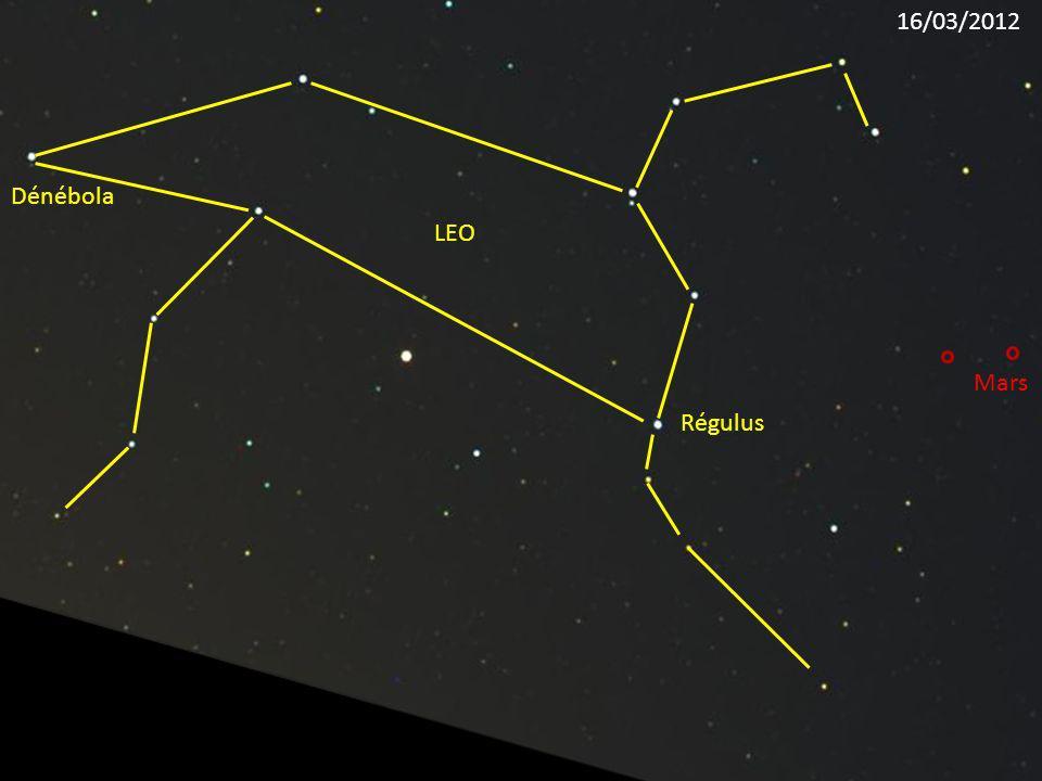 16/03/2012 Dénébola LEO Mars Régulus