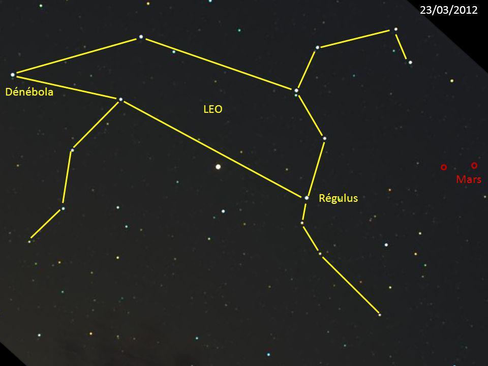 23/03/2012 Dénébola LEO Mars Régulus
