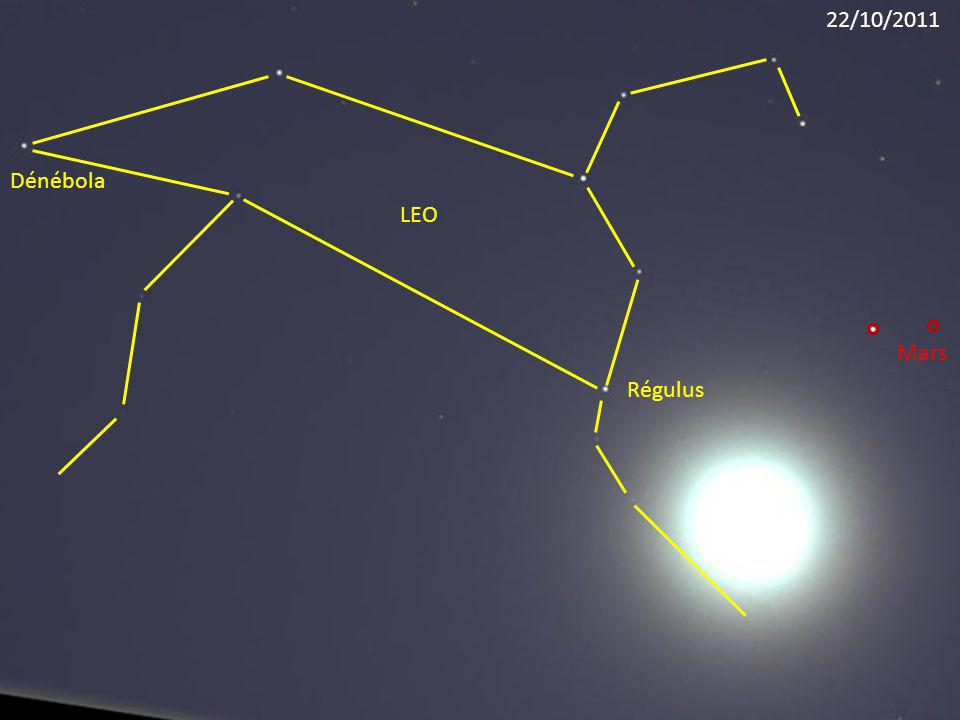 22/10/2011 Dénébola LEO Mars Régulus