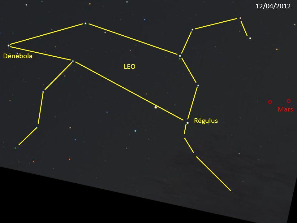 12/04/2012 Dénébola LEO Mars Régulus