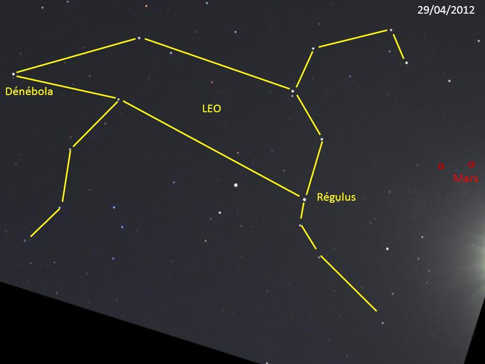 29/04/2012 Dénébola LEO Mars Régulus