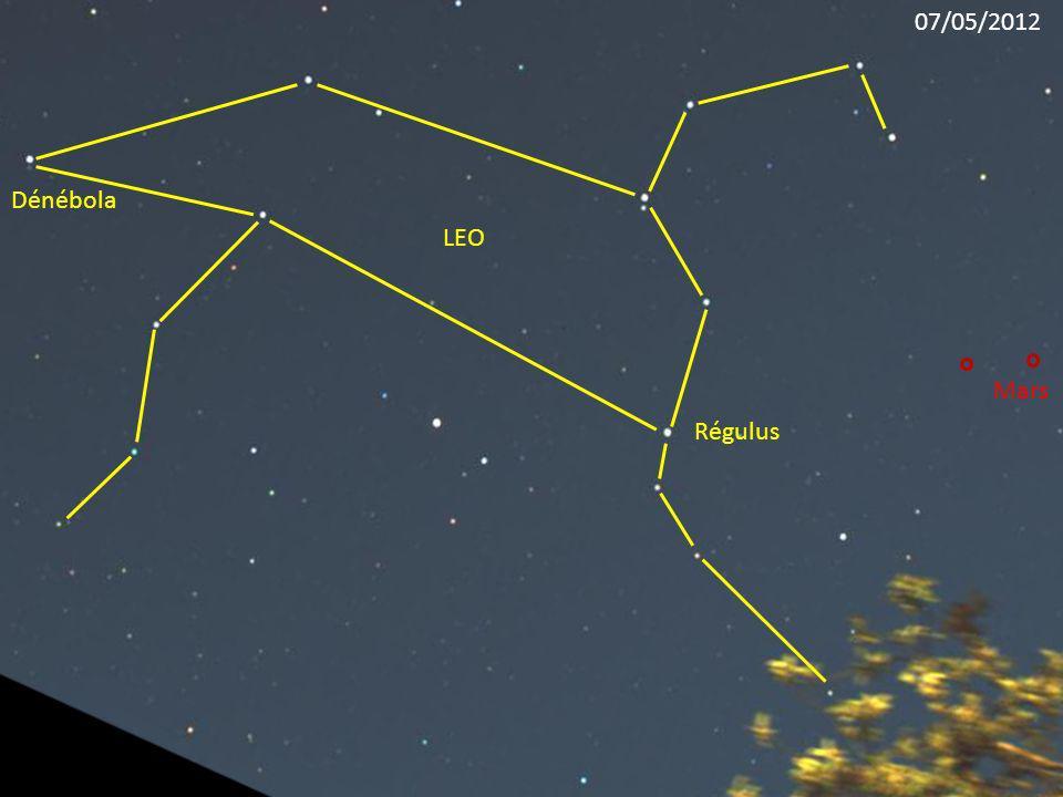 07/05/2012 Dénébola LEO Mars Régulus