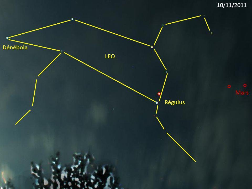 10/11/2011 Dénébola LEO Mars Régulus