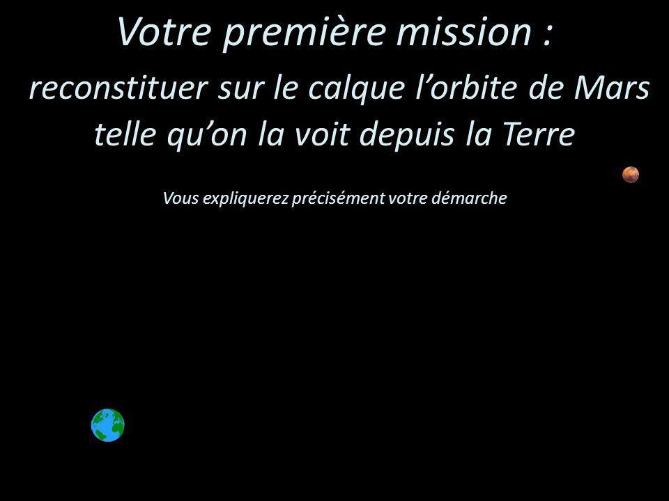 Votre première mission :