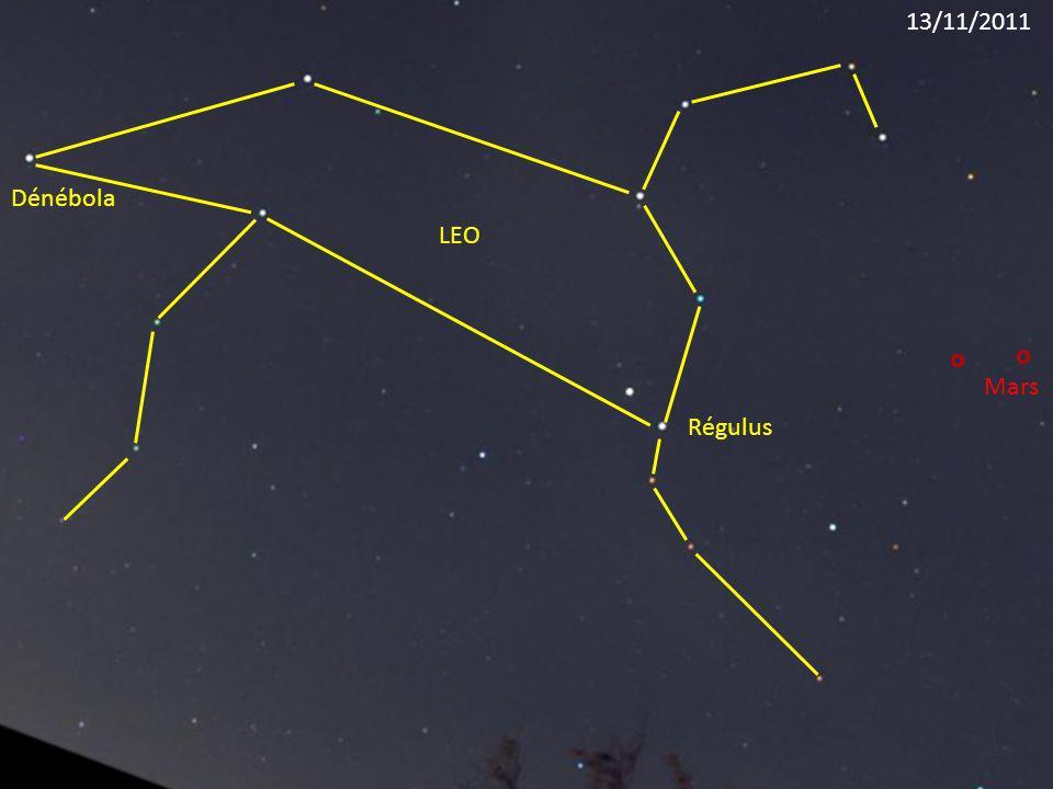 13/11/2011 Dénébola LEO Mars Régulus