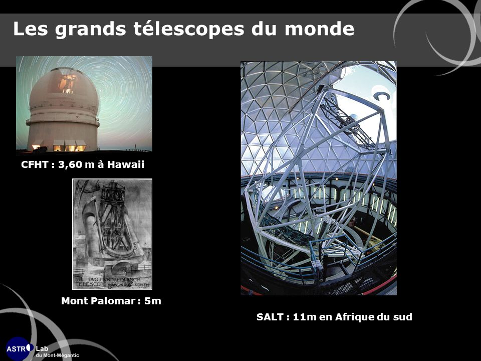Les grands télescopes du monde