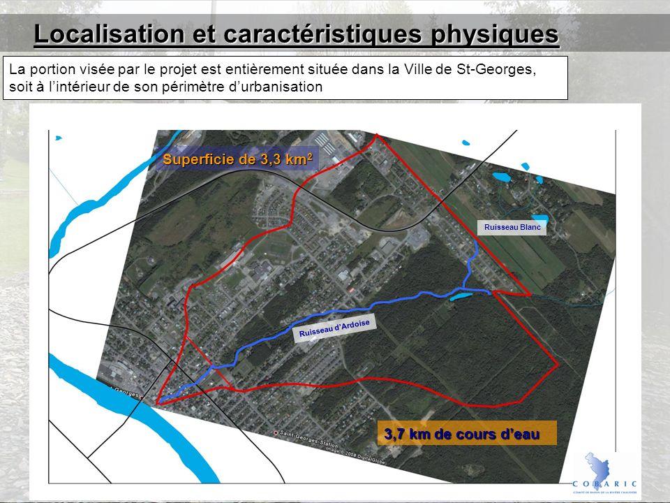 Localisation et caractéristiques physiques