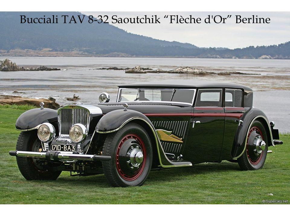 Bucciali TAV 8-32 Saoutchik Flèche d Or Berline