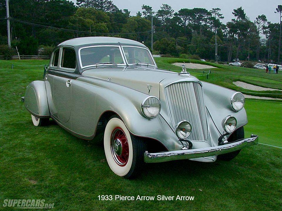 1933 Pierce Arrow Silver Arrow
