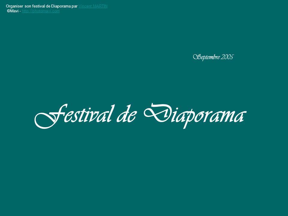 Septembre 2005 Festival de Diaporama