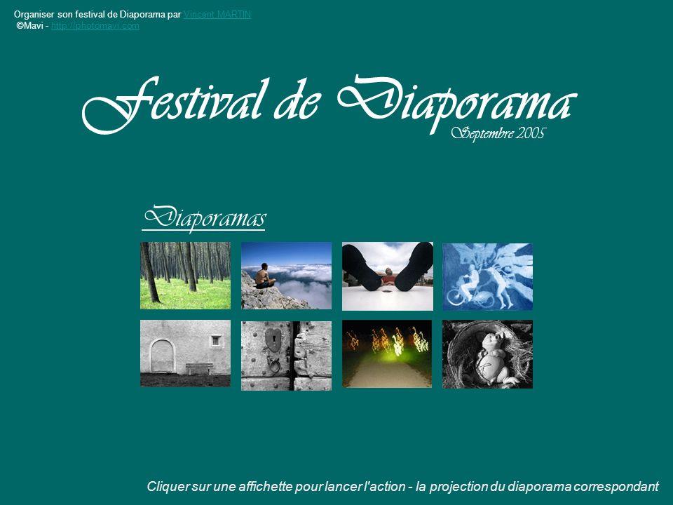 Festival de Diaporama Diaporamas Septembre 2005