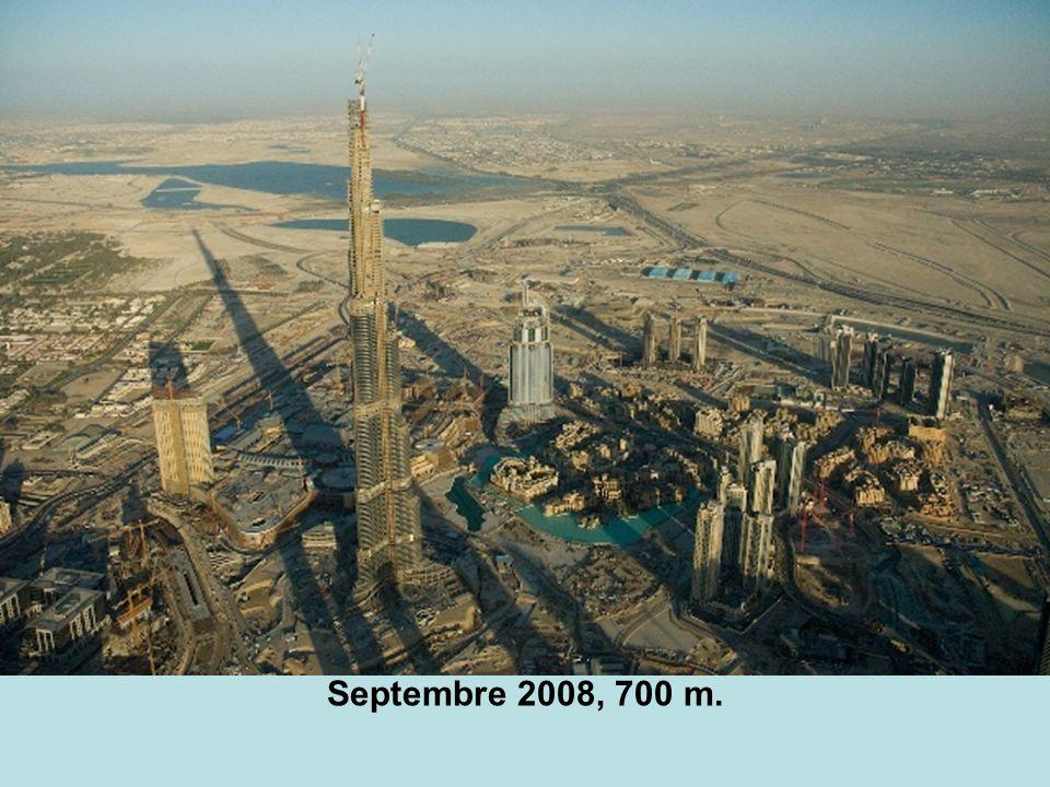Septembre 2008, 700 m.