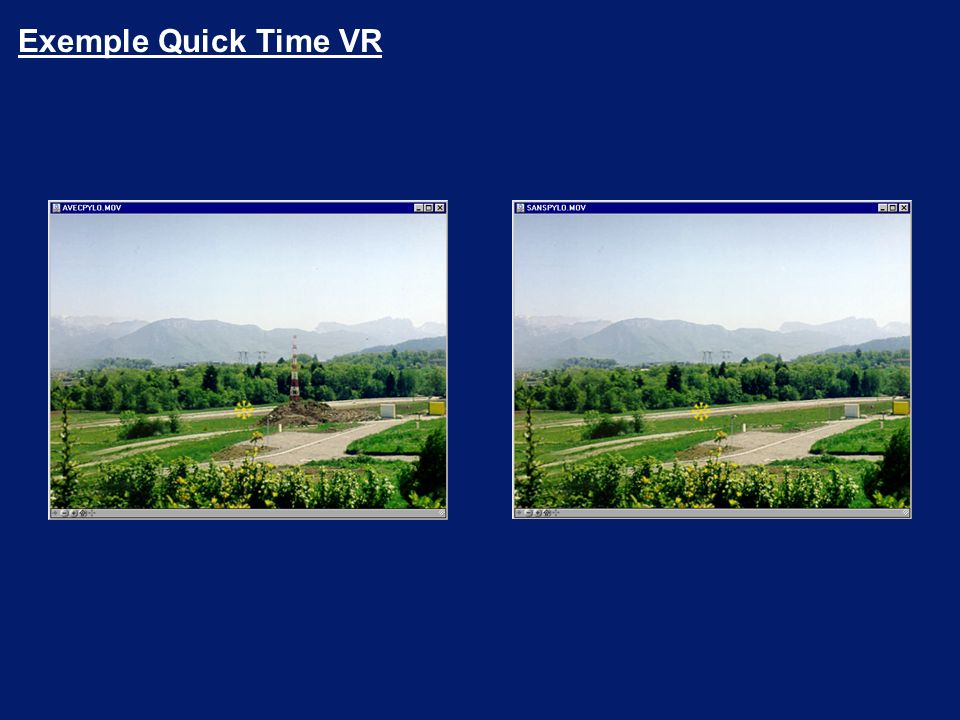 Exemple Quick Time VR