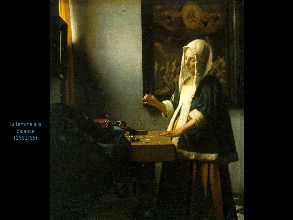La femme à la balance (1662-65)