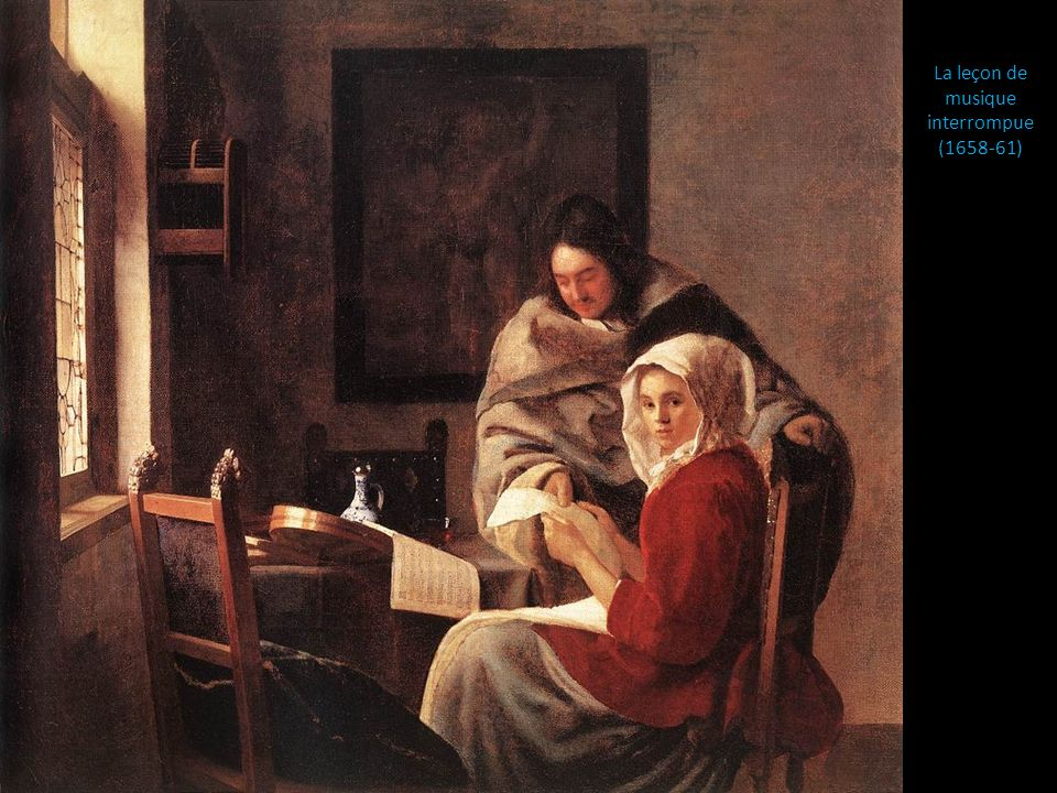 La leçon de musique interrompue (1658-61)