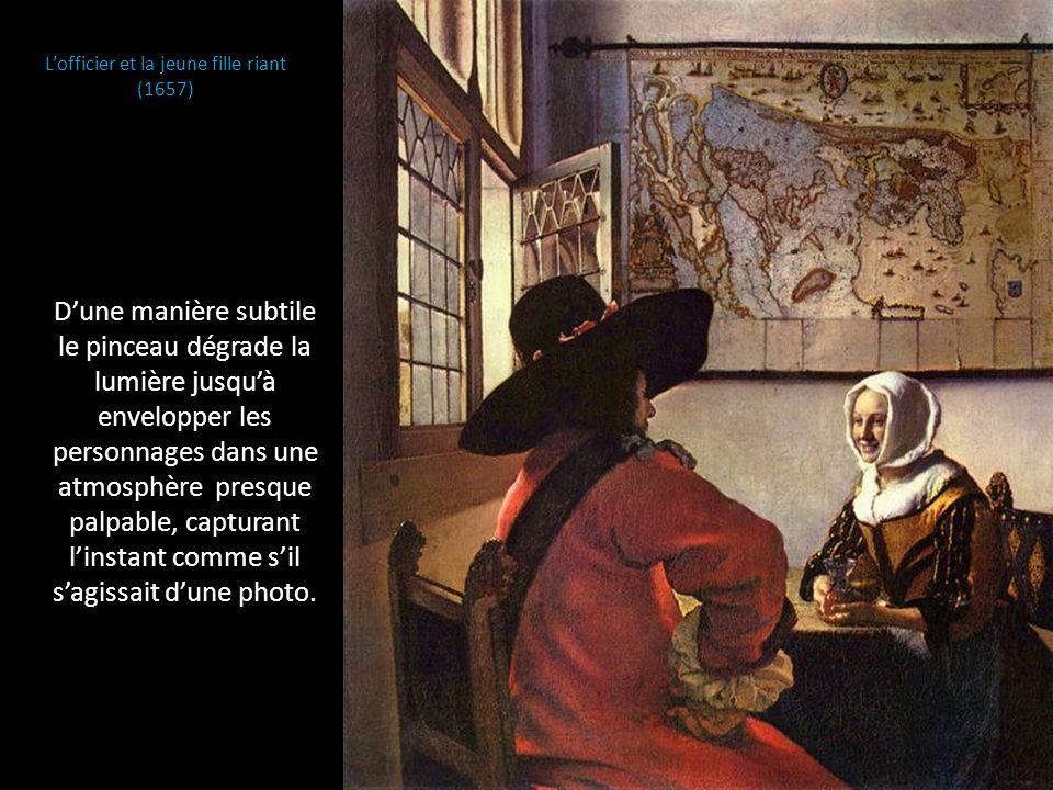 L'officier et la jeune fille riant (1657)