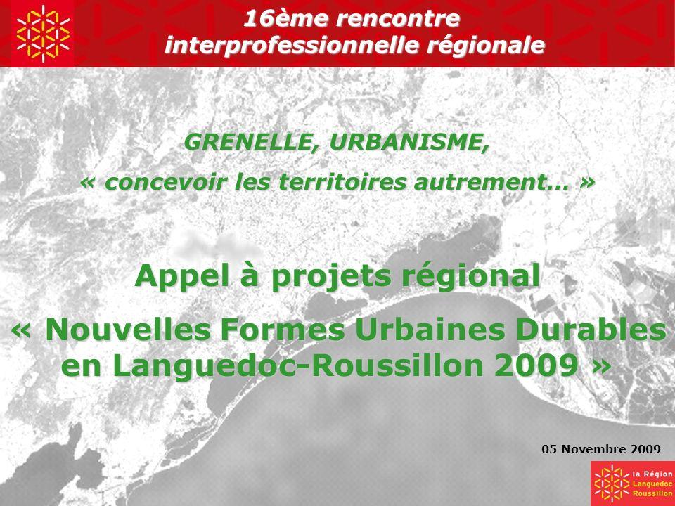 Appel à projets régional
