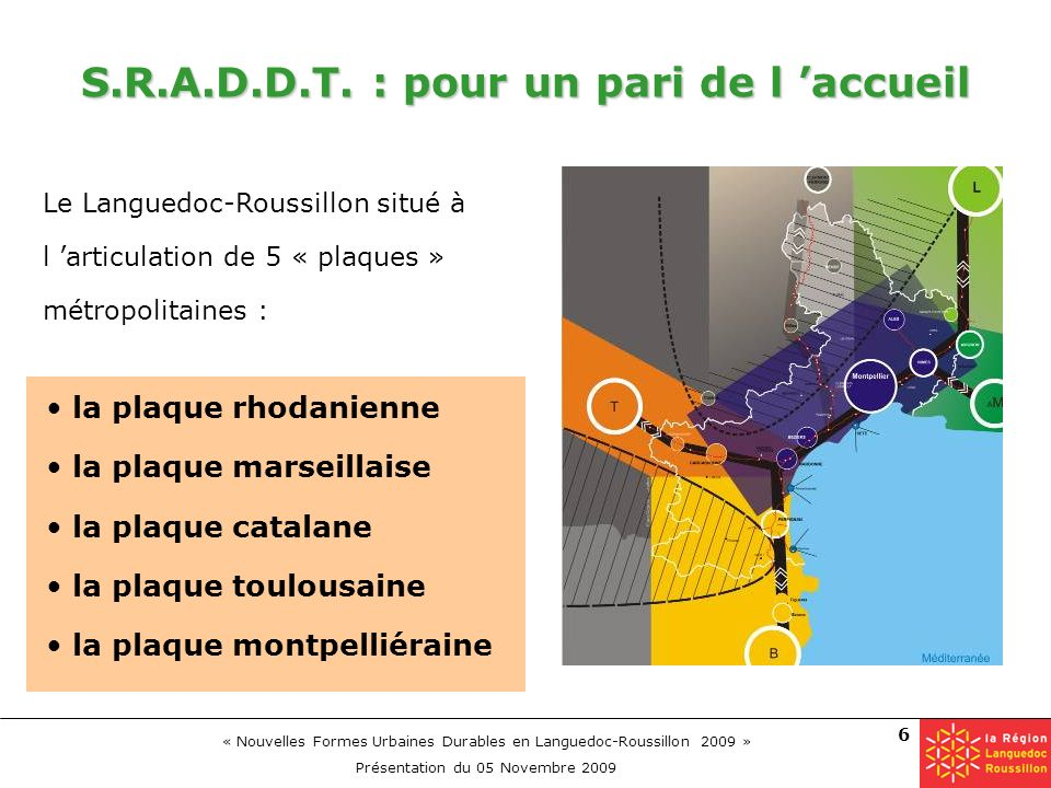 S.R.A.D.D.T. : pour un pari de l 'accueil