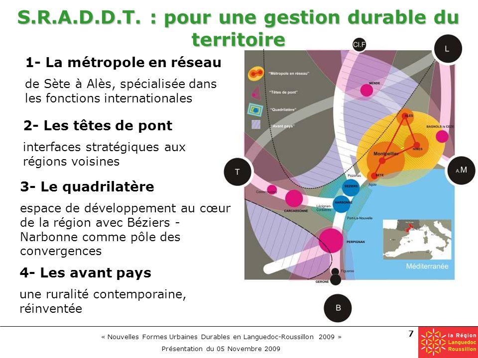 S.R.A.D.D.T. : pour une gestion durable du territoire