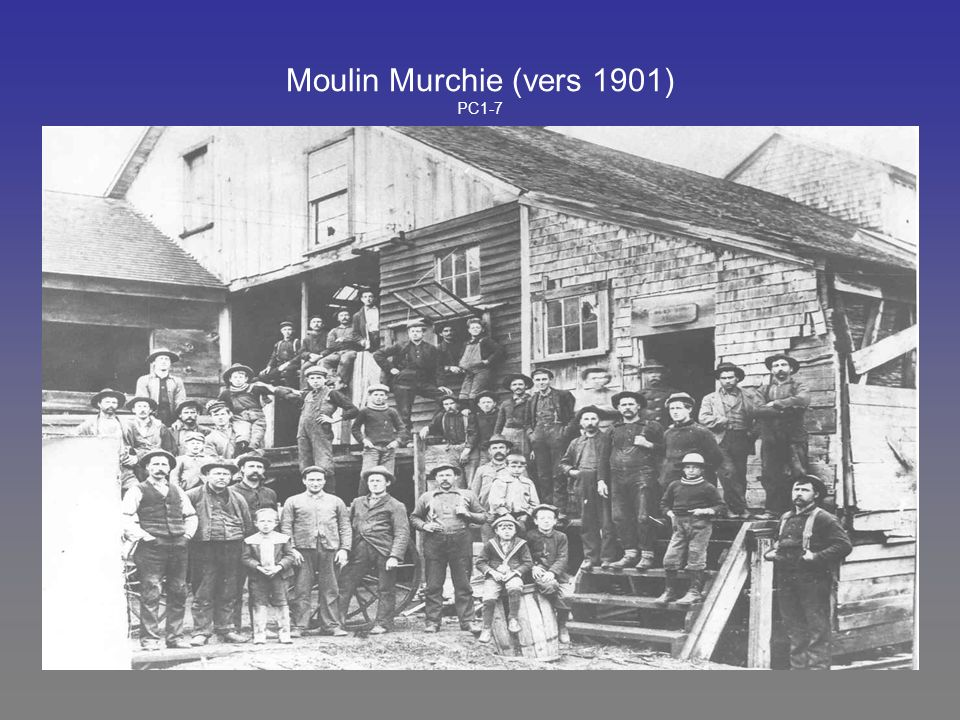 Moulin Murchie (vers 1901) PC1-7