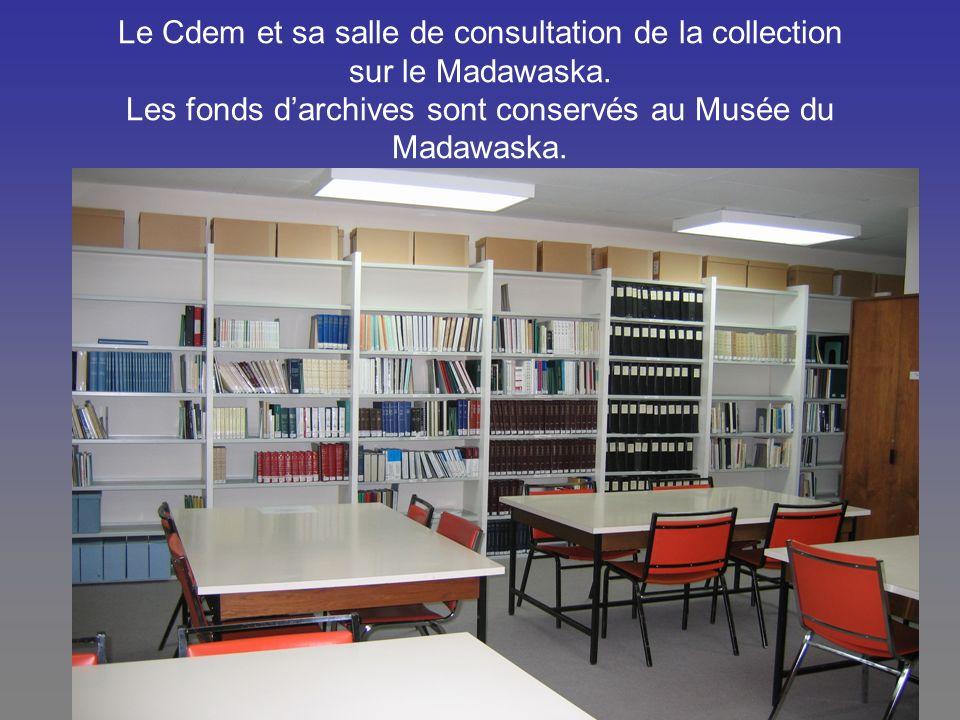 Le Cdem et sa salle de consultation de la collection sur le Madawaska