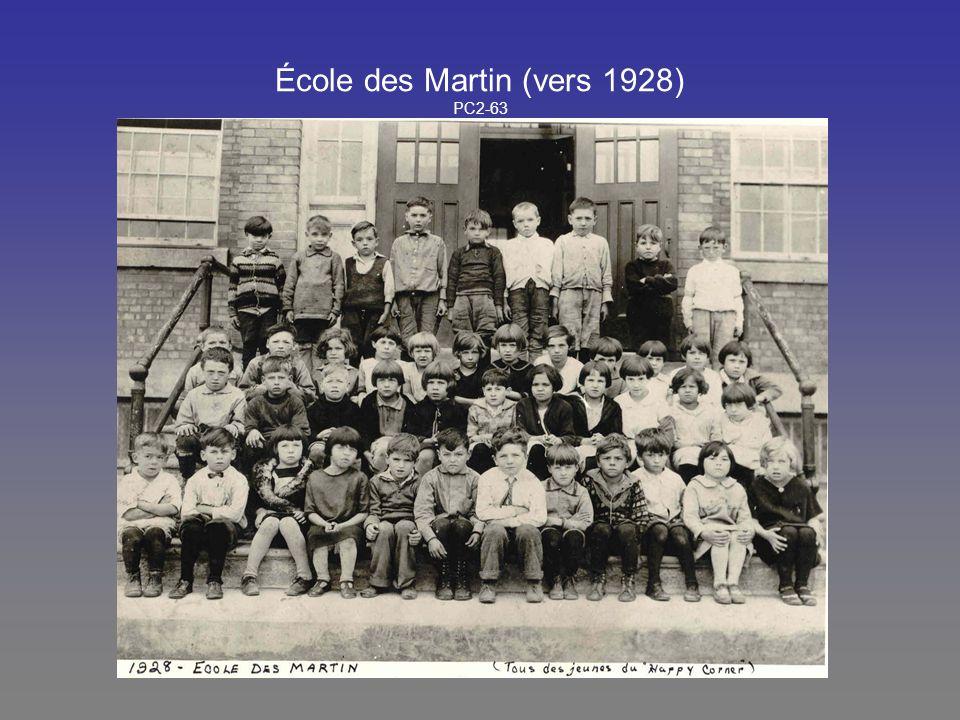 École des Martin (vers 1928) PC2-63