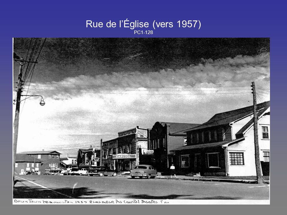 Rue de l'Église (vers 1957) PC1-128