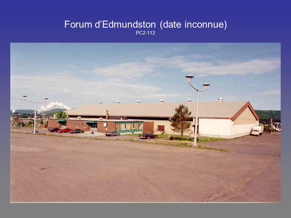 Forum d'Edmundston (date inconnue) PC2-112