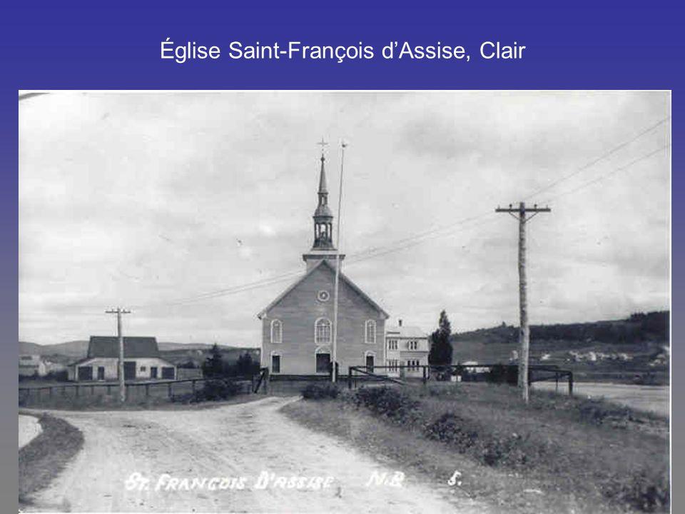 Église Saint-François d'Assise, Clair