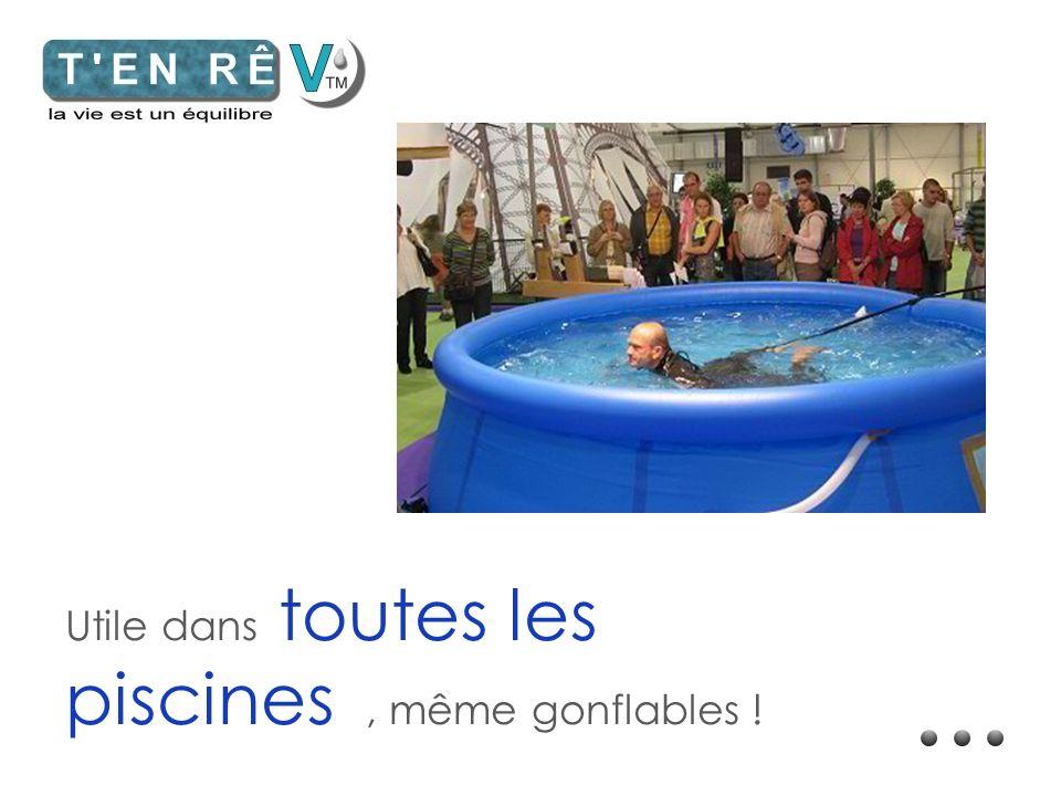 Utile dans toutes les piscines , même gonflables !