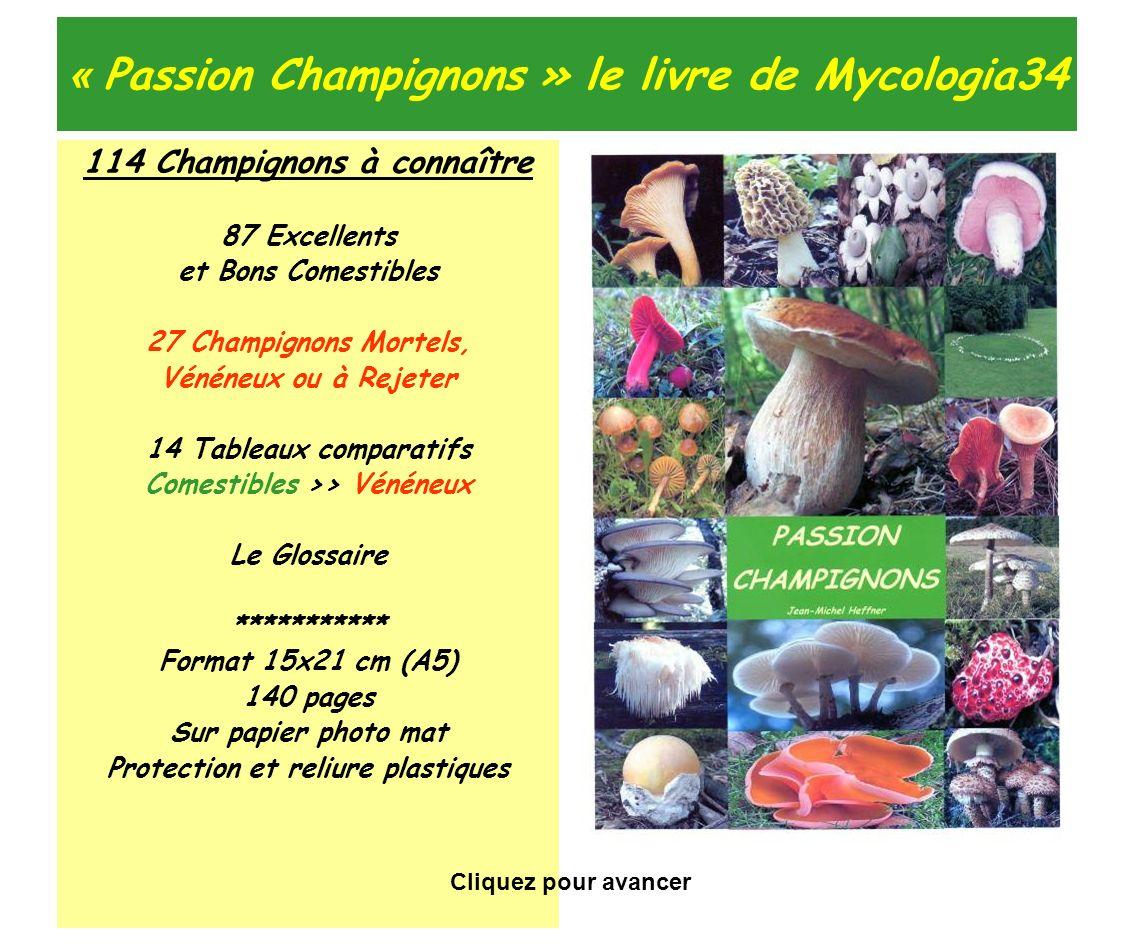 « Passion Champignons » le livre de Mycologia34