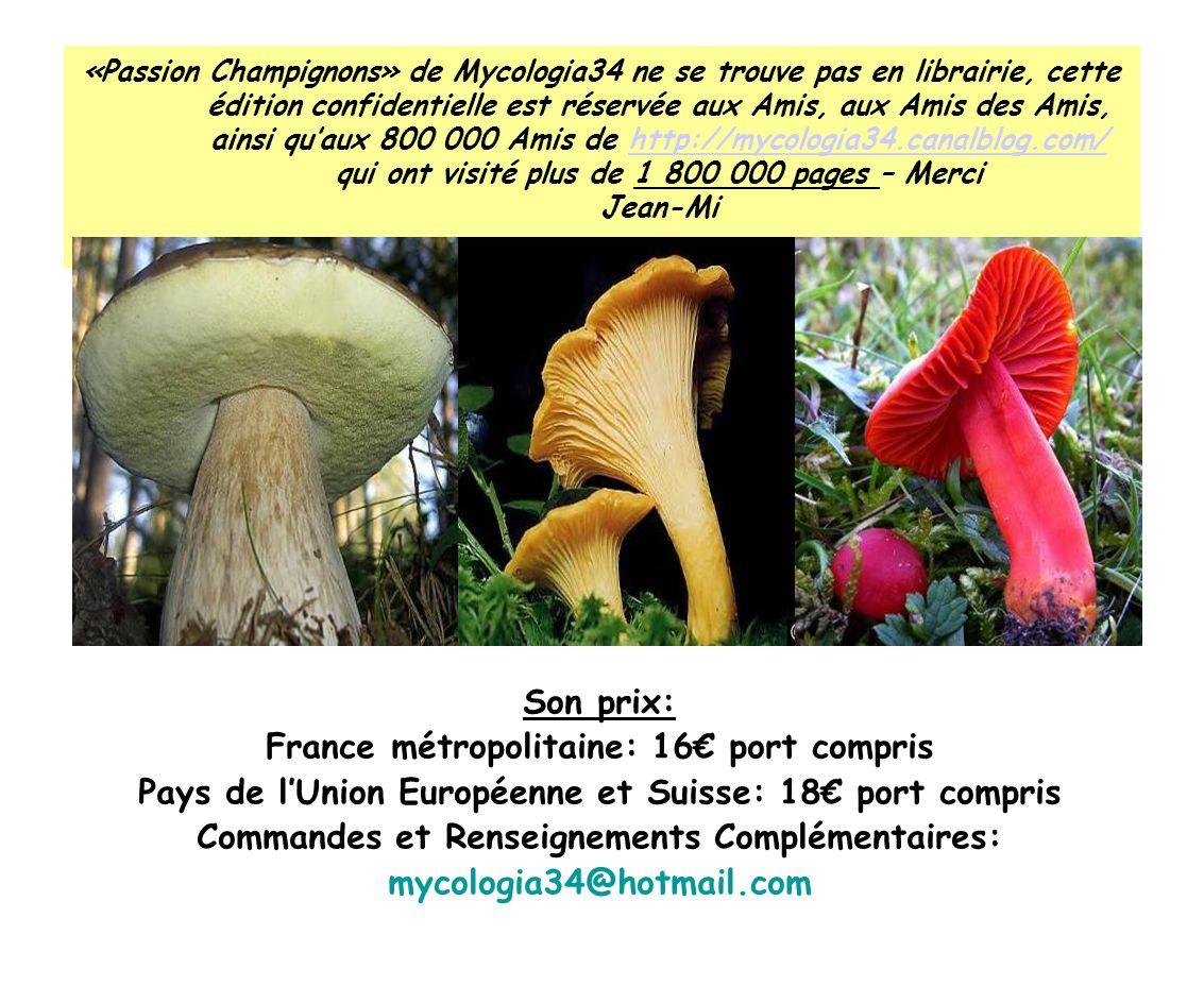 France métropolitaine: 16€ port compris