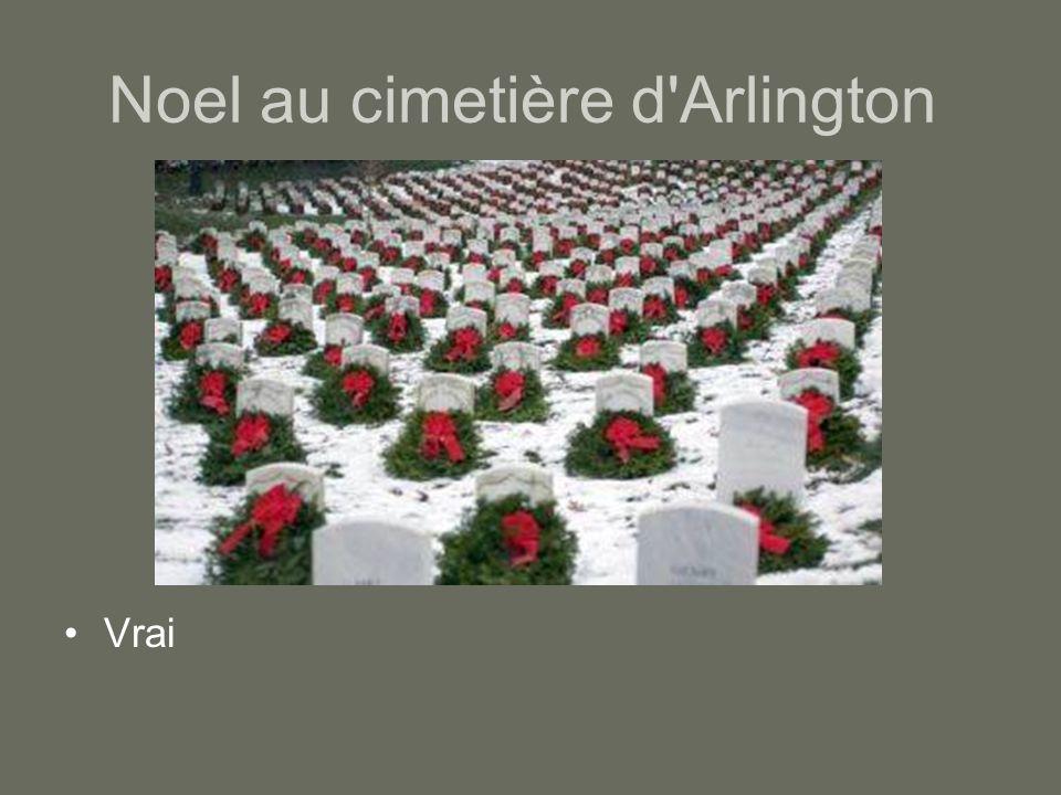 Noel au cimetière d Arlington