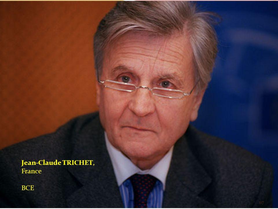 Jean-Claude TRICHET, France BCE