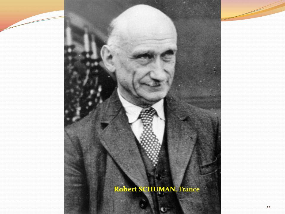 Robert SCHUMAN, France