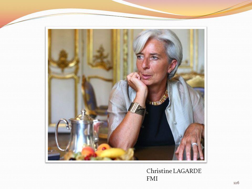 ORBAN Viktor Hongrie Christine LAGARDE FMI