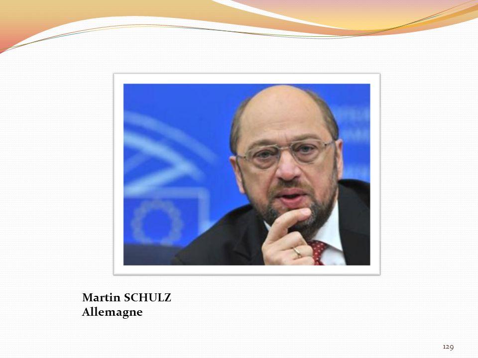 Martin SCHULZ Allemagne
