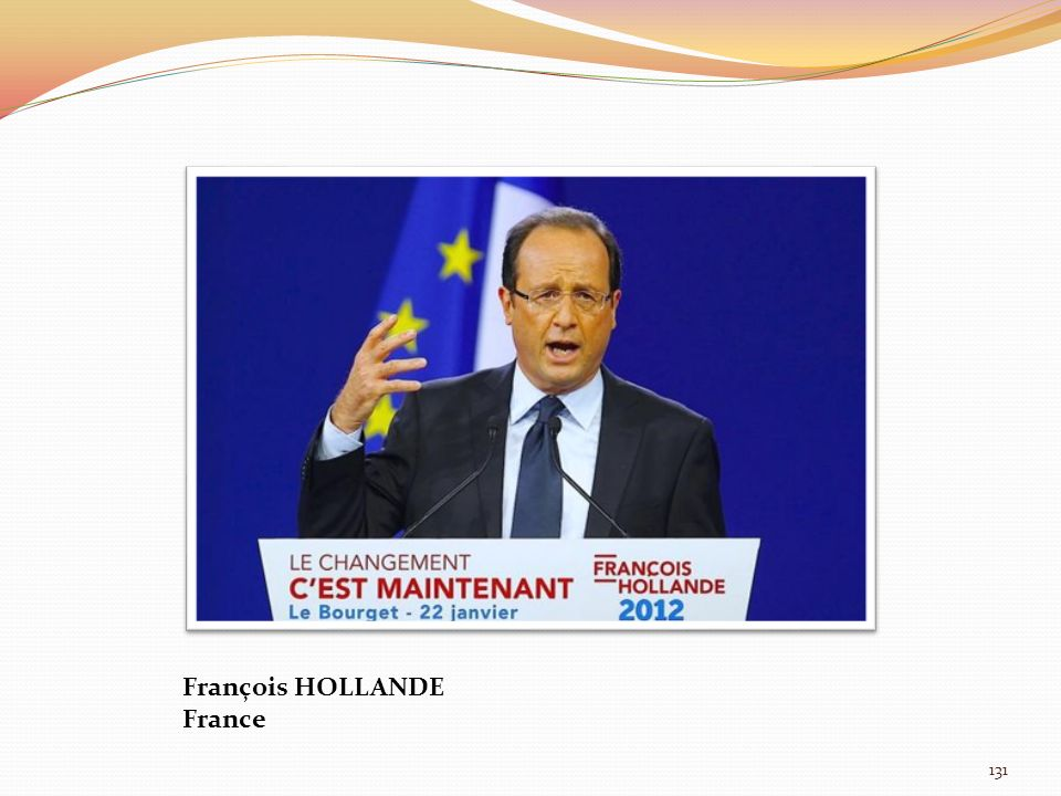 François HOLLANDE France