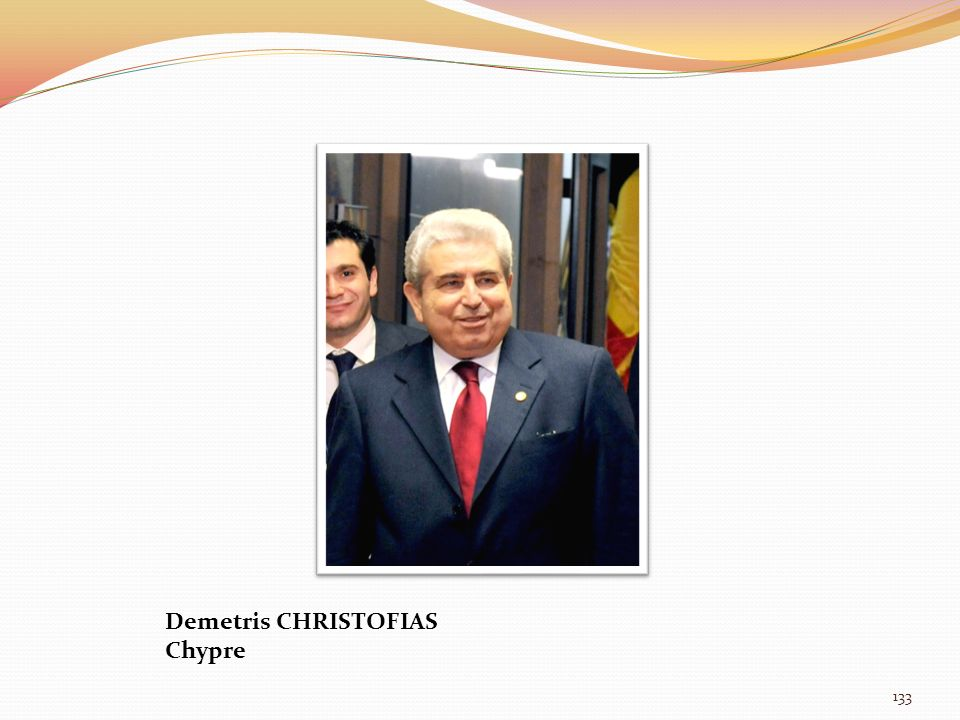 Demetris CHRISTOFIAS Chypre