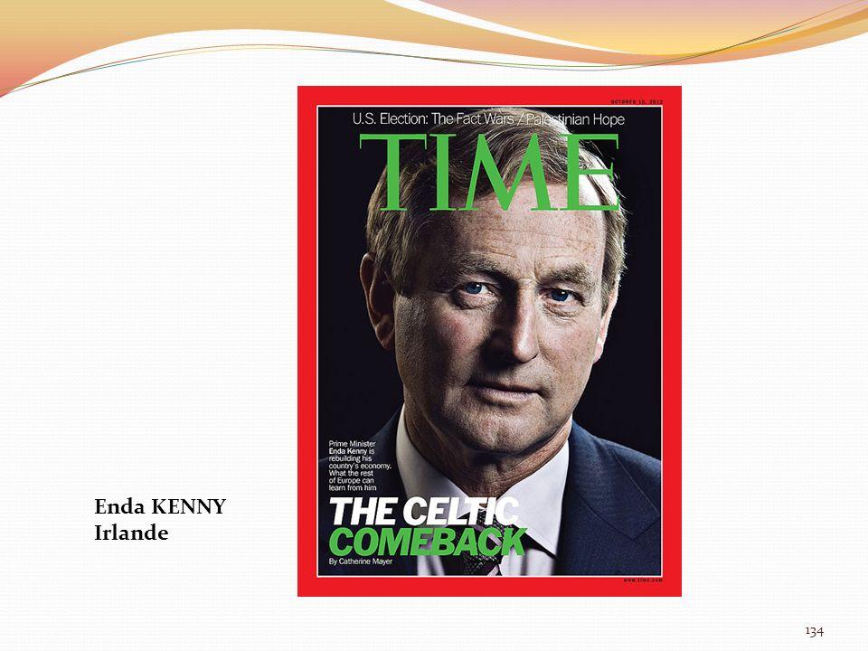 Enda KENNY Irlande