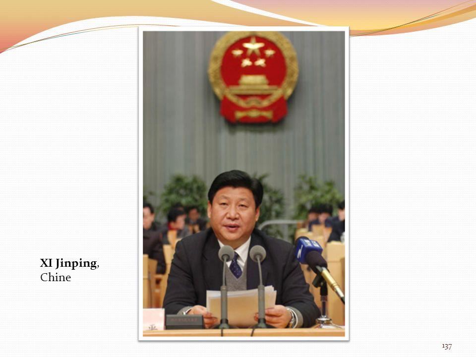 XI Jinping, Chine