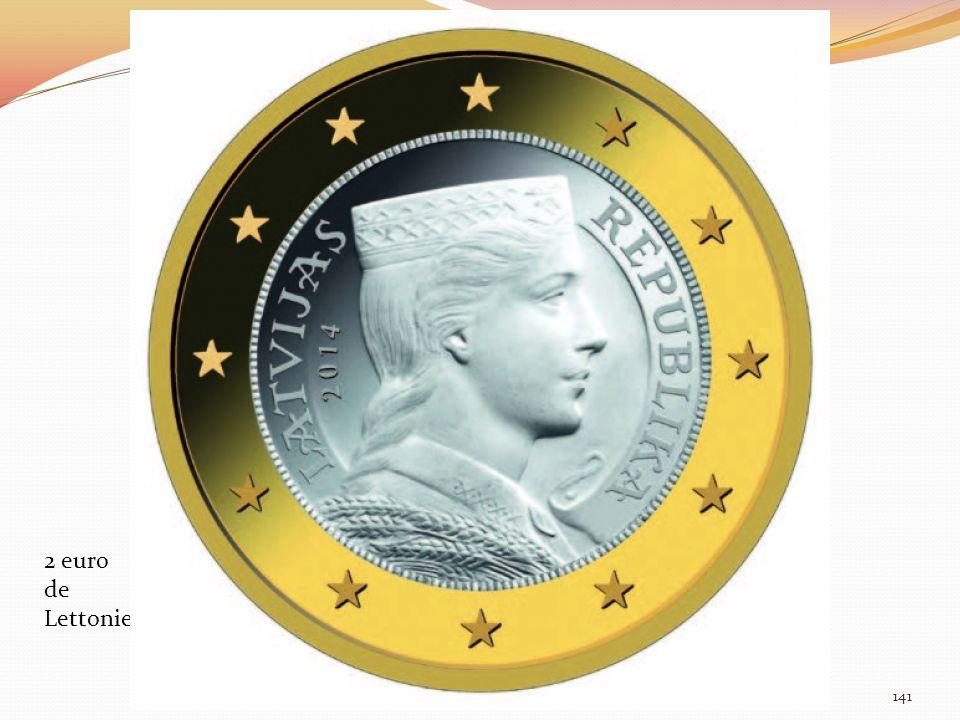 2 euro de Lettonie